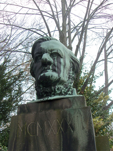 Richard-Wagner-Denkmal in Graupa